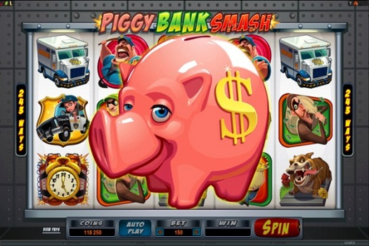 Bust the Bank Video Slot