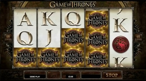 game of thrones casino game