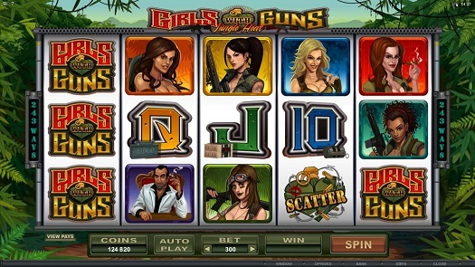 Girls with Guns Video Slot