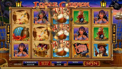 Loose Cannon Video Slot