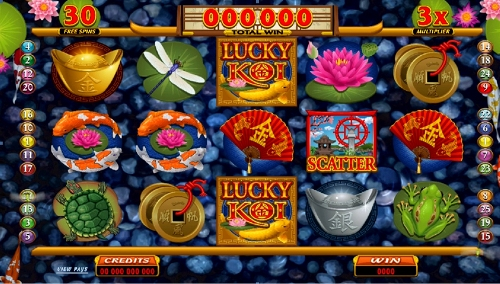 Lucky Koi Slot Game