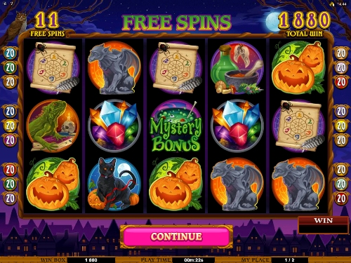 Spiele Halloween Witch - Video Slots Online