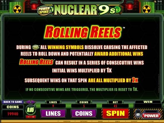 Power Spins – Nuclear 9's