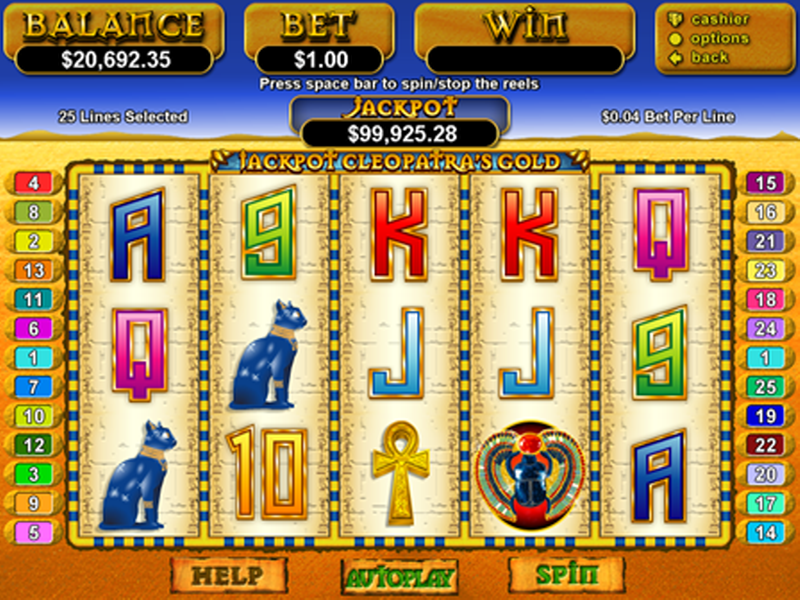 Seek the bonus in Cleopatra: Last of the Pharaohs slot