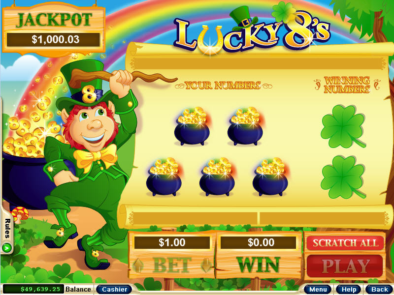 Goldwin's Golden Pot of Gold Dice - Try for Free Online