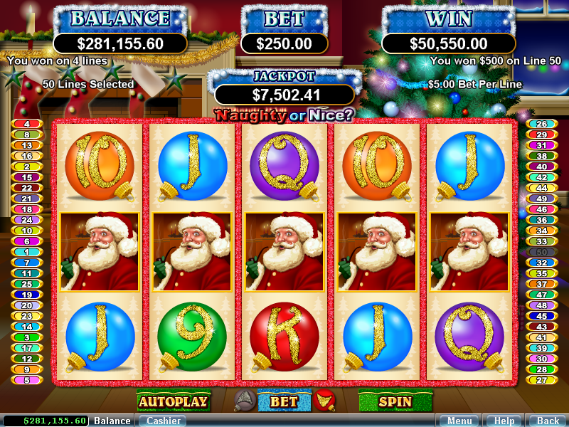 Spiele Naughty Or Nice 3 - Video Slots Online