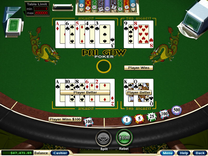 Video games with poker mini games